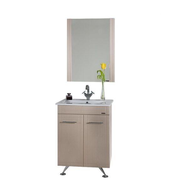 Комплект мебели для ванной Ницца Д 60 Дуб