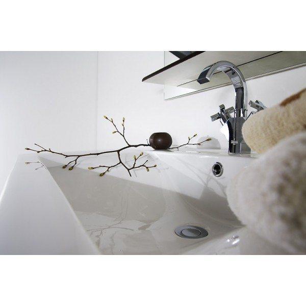 Комплект мебели для ванной Ницца Д 60 Чёрный бриллиант