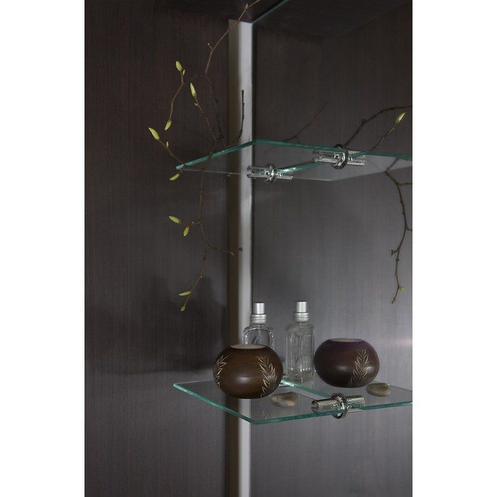Комплект мебели для ванной Ницца Д 90 Чёрный бриллиант
