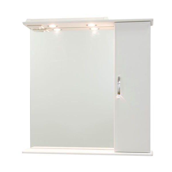 Продажа Зеркало со шкафом Колумбия 75 (цвет белый)