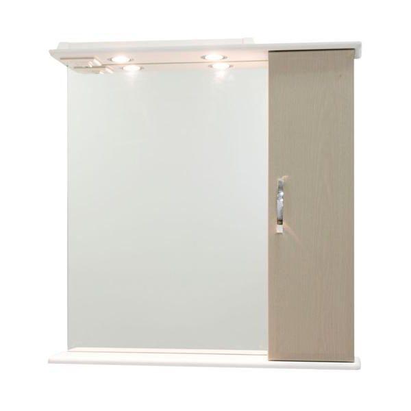 Зеркало со шкафом Колумбия 75 (цвет дуб)