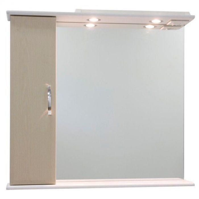 Зеркало со шкафом Колумбия 85 (цвет дуб)