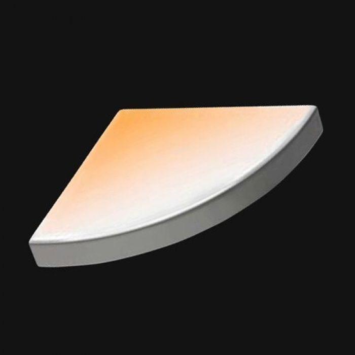Полка керамическая Hatria GRANDANGOLO Y0YH DX (правая), с системой обогрева easywarm
