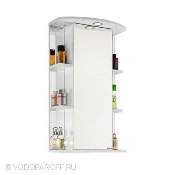 Зеркало для ванной комнаты ЭЛЬБА 50 (цвет белый)