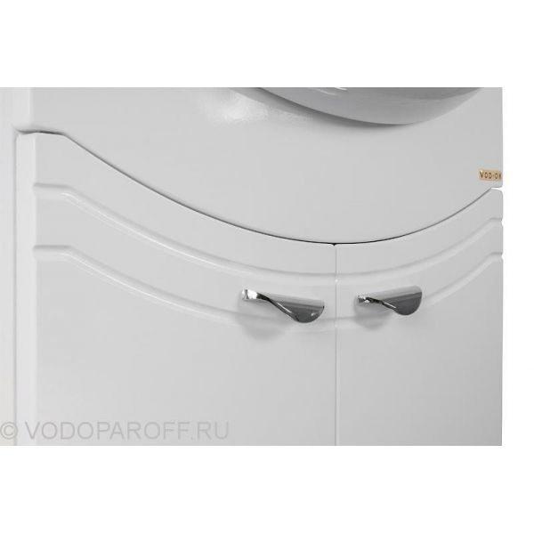 Тумба с раковиной для ванной комнаты ЭЛЬБА 55 (цвет белый)