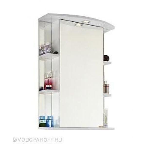 Зеркало для ванной комнаты ЭЛЬБА 60 (цвет белый)