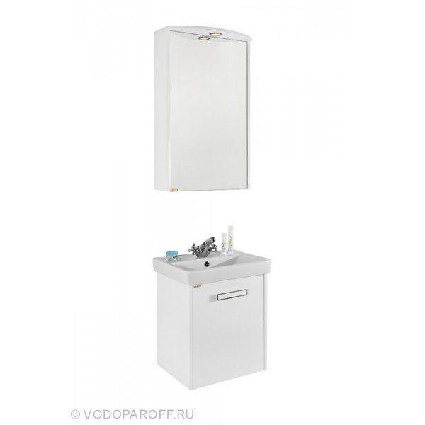 Комплект мебели для ванной комнаты МОНА 50 Белый