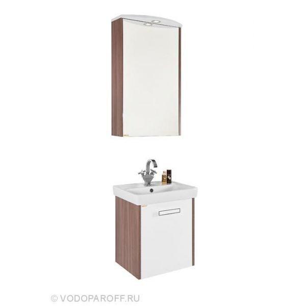 Комплект мебели для ванной комнаты МОНА 50 (цвет Ясень Шимо)
