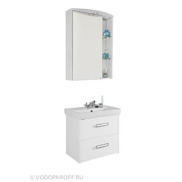 Комплект мебели для ванной комнаты МОНА 60 Белый