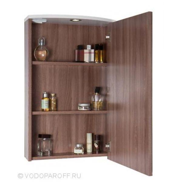 Комплект мебели для ванной комнаты ТВИСТ 50 (цвет Ясень Шимо)