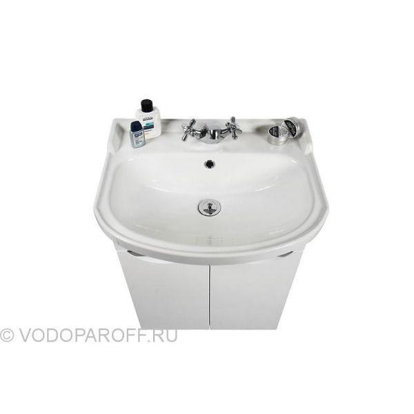 Комплект для ванной комнаты Лира 55 (цвет белый)