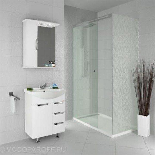 Комплект мебели для ванной комнаты Лира 65 -я (цвет белый)