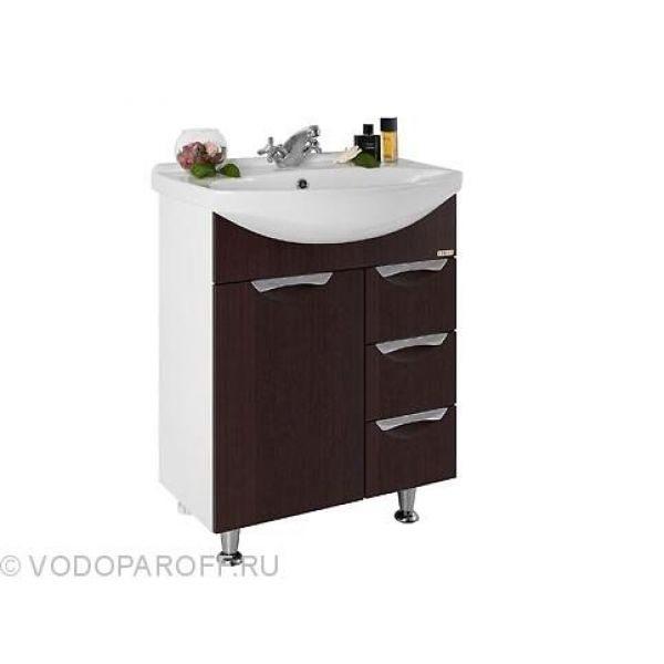 Комплект мебели для ванной комнаты Лира 65 - я (цвет венге)