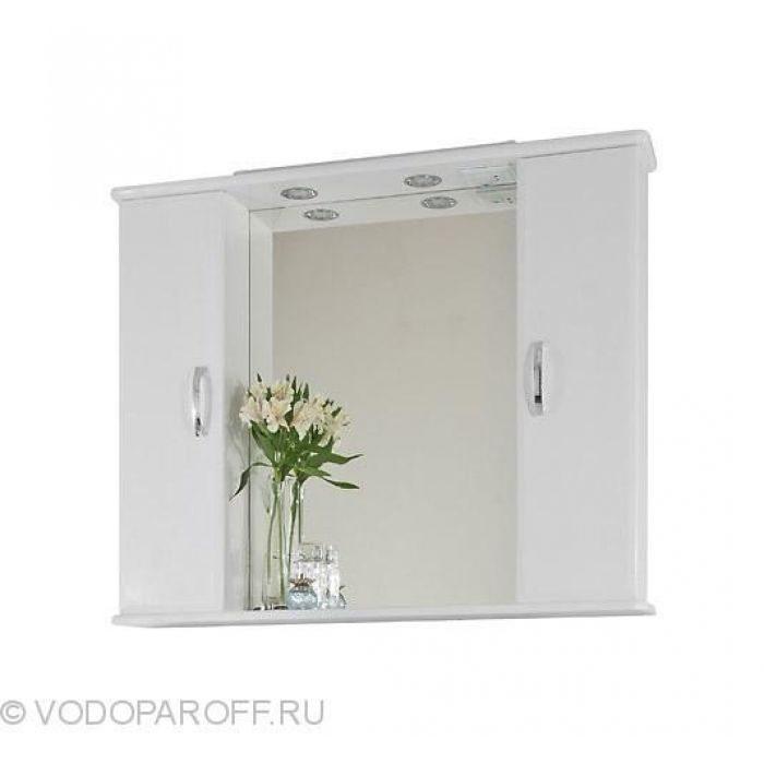 Комплект мебели для ванной комнаты Колумбия 95 (цвет белый)