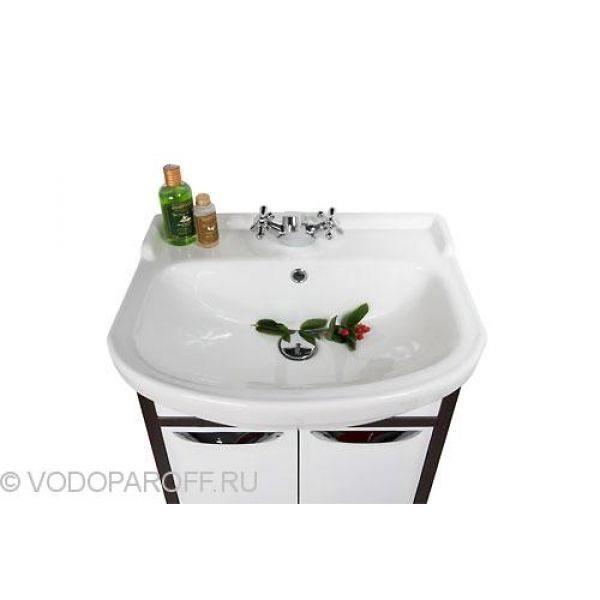 Тумба с раковиной для ванной комнаты Клаудия 55