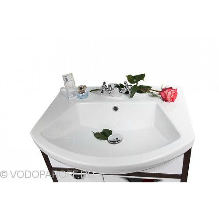 Тумба с раковиной для ванной комнаты Клаудия 65