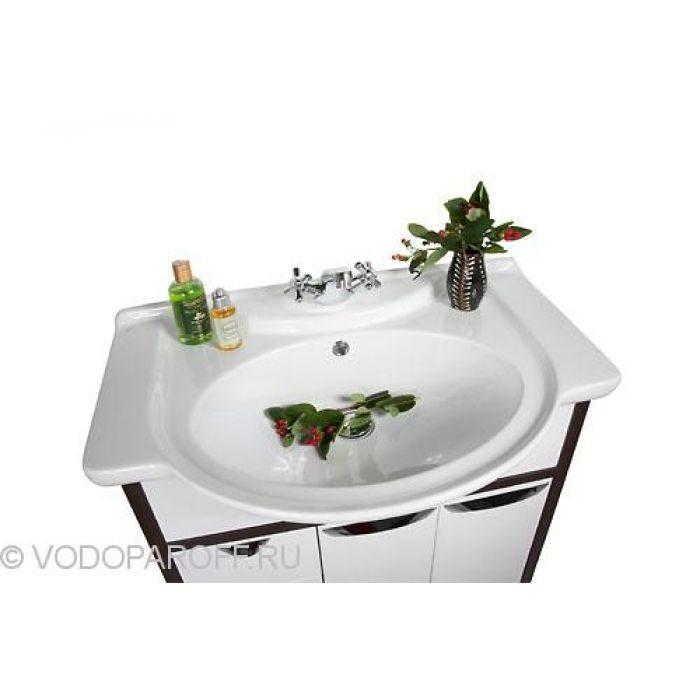 Тумба с раковиной для ванной комнаты Клаудия 75