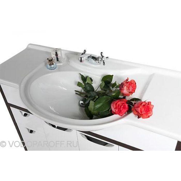 Тумба с раковиной для ванной комнаты Клаудия 105