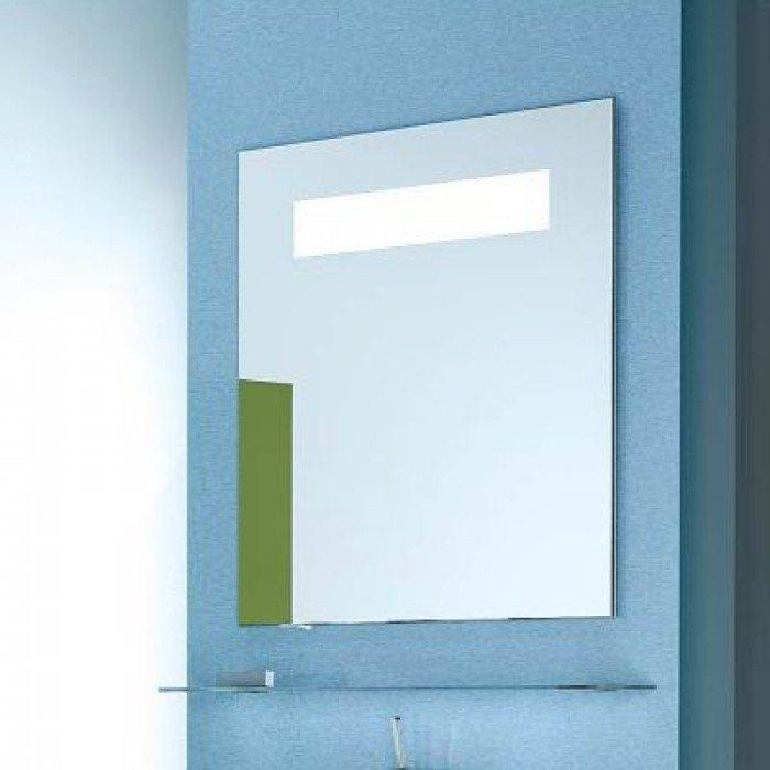 Зеркало для ванной со стеклянной полкой NOVITA Q7