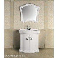 Комплект мебели для ванной Луиджи 90 (цвет белый)