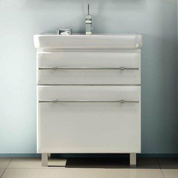 Тумба с раковиной для ванной NOVITA Q7 (цвет белый)