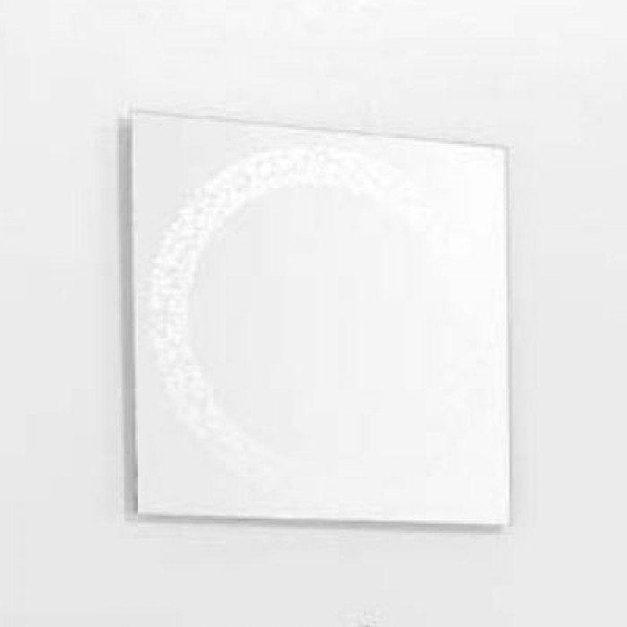 Зеркало для ванной комнаты квадратное 50 см на 50 см см GSI MSPEC11 (с декором)