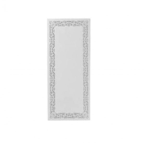 Зеркало для ванной комнаты прямоугольное 95 см на 40 см см GSI MSPEC16 (с декором и внутренней подсветкой)