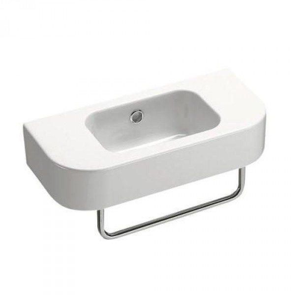 Раковина для ванной на 45 см GSI traccia M 694811 с полотенцедержателем PATF45/PATFB45