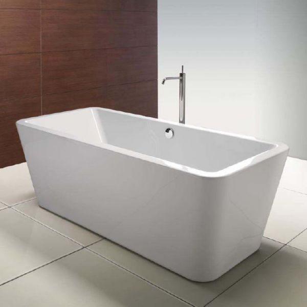 Ванна акриловая свободностоящая GSI traccia VAT81 180 см на 80 см