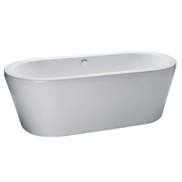 Ванна акриловая свободностоящая GSI traccia VAT80 180 см на 80 см