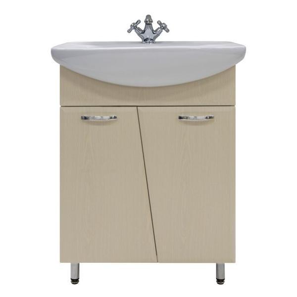 Тумба для ванной с раковиной Лагуна 65