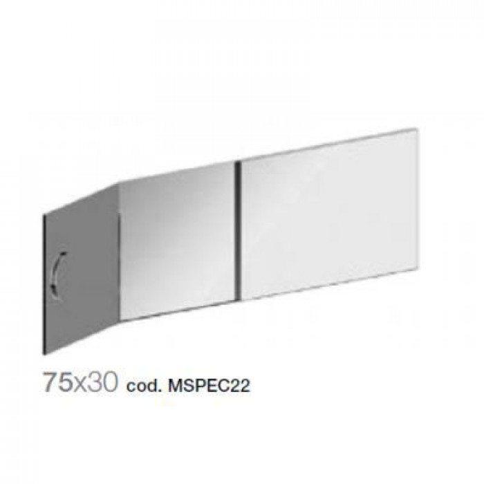 Зеркало для ванной комнаты GSI MSPEC22 75 см на 30 см