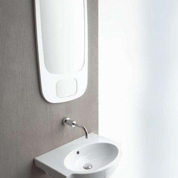 Зеркало для ванной комнаты в деревянной оправе GSI MSPEC21BD/MSPEC21TD 100 см на 50 см