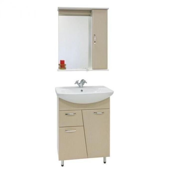 Комплект мебели для ванной комнаты Лагуна 1я (цвет дуб)