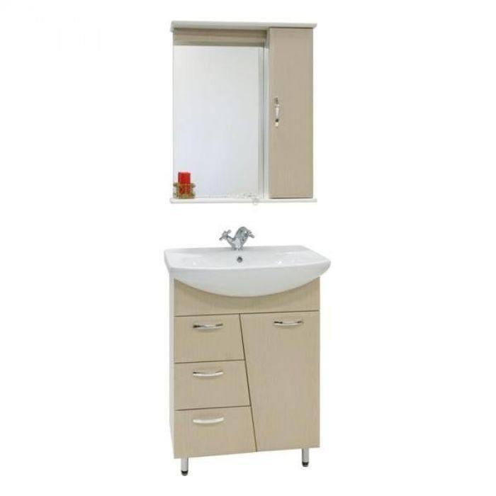 Комплект мебели для ванной комнаты Лагуна 3я (цвет дуб)
