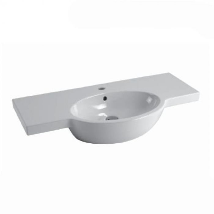 Раковина для ванной на 100 см GSI panorama line 665111