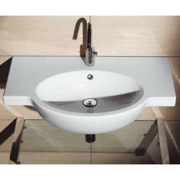 Раковина для ванной на 80 см GSI panorama line 662211