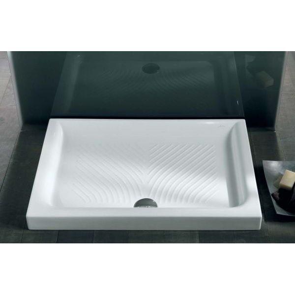 Керамический душевой поддон 120 см на 70 см Hatria DROP Y0QC