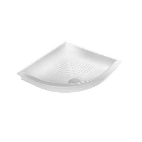 Керамический угловой душевой поддон 80 см на 80 см Hatria DROP Y0GE