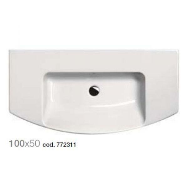Раковина для ванной комнаты на 100 см GSI modo 772311
