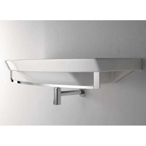 Раковина для ванной на 100 см GSI modo 772311 с полотенцедержателем PAMQ100