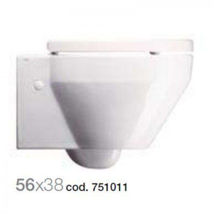 Унитаз подвесной GSI losanga BIG 751011