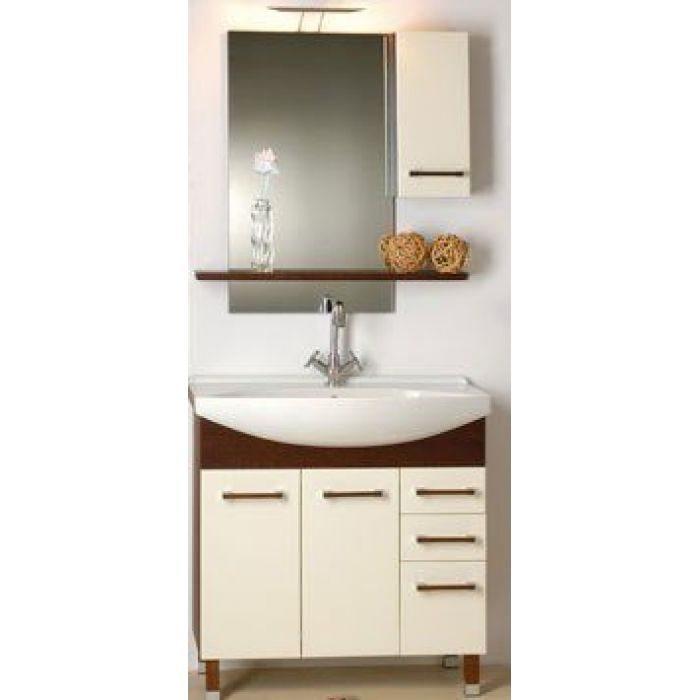 Комплект мебели для ванной Lavaco SIMPLE plus 75