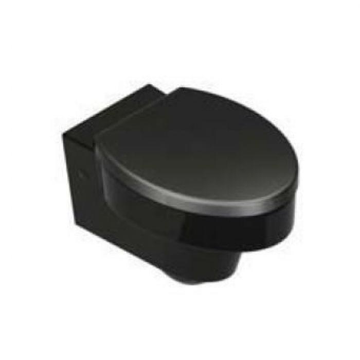 Унитаз подвесной GSI losanga SLIM Black 751820 (черный)