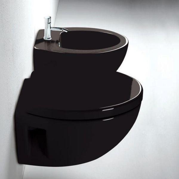 Унитаз подвесной GSI modo black 771820 (цвет черный)