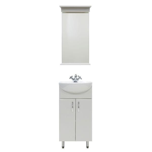 Комплект мебели для ванной комнаты Манго 40 (цвет белый)