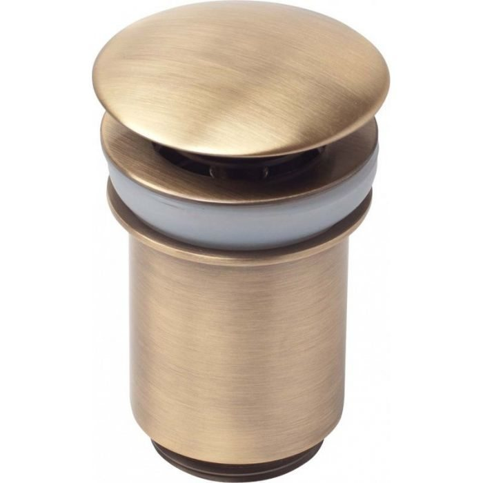 Донный клапан для раковины Kaiser 8011/Бронзовый