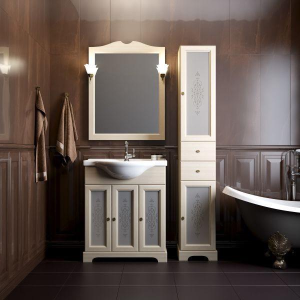 Комплект мебели OPADIRIS КАМА 75 (орех антикварный, слоновая кость)