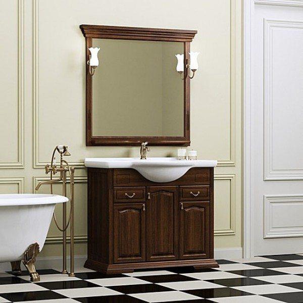 Комплект мебели OPADIRIS Риспекто 95 с пеналом (цвета белый или орех антикварный)