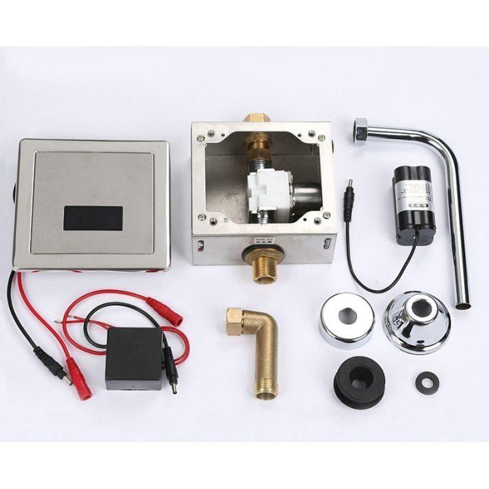 Автоматический напольный писсуар 00850 с инфракрасным устройством смыва HD601BDC